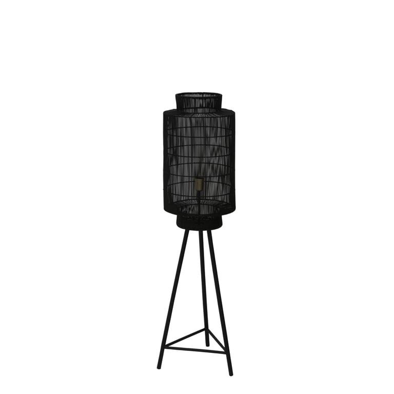 Light & Living Vloerlamp 'Gruaro' kleur Mat Zwart