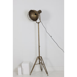 Light & Living Vloerlamp 'Kyan' driepoot, brons