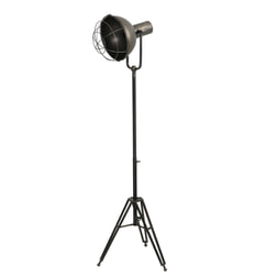 Light & Living Vloerlamp 'Kyan' driepoot, zink