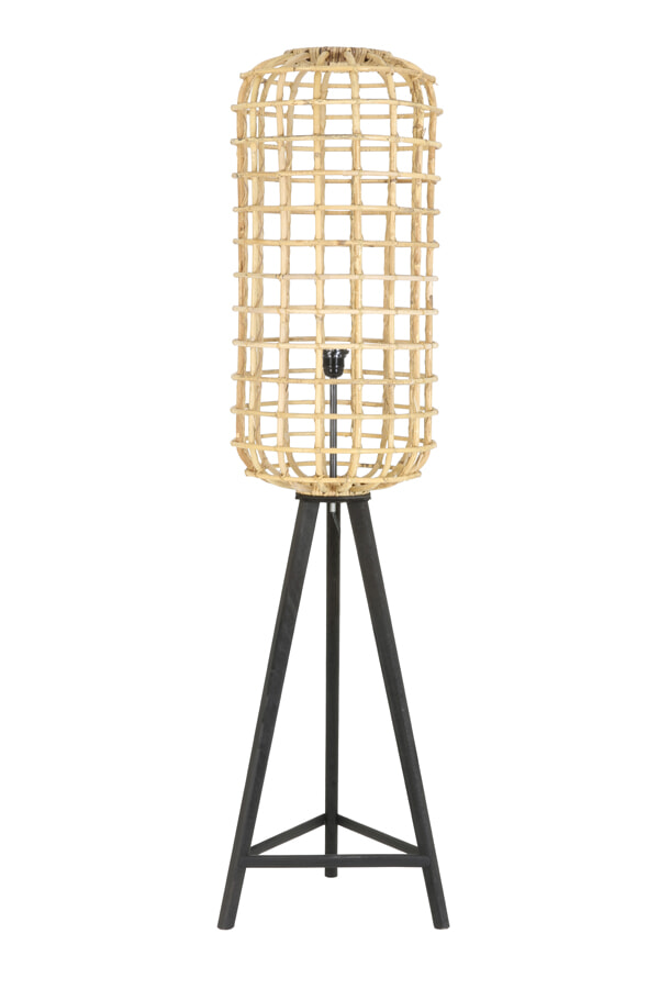Light Living Vloerlamp 'Noah', rotan naturel