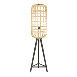 Light & Living Vloerlamp 'Noah', rotan naturel