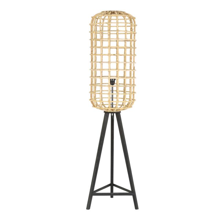 Light & Living Vloerlamp 'Noah', rotan naturel