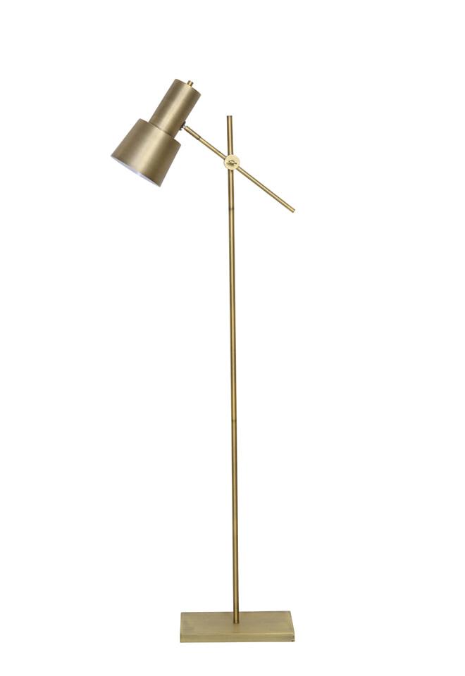Light Living Vloerlamp 'Preston', antiek brons