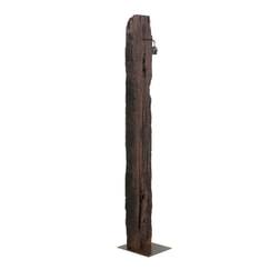 Light & Living Vloerlamp 'Rozino', hout naturel