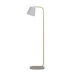 Light & Living Vloerlamp 'Salaun', beton met hout