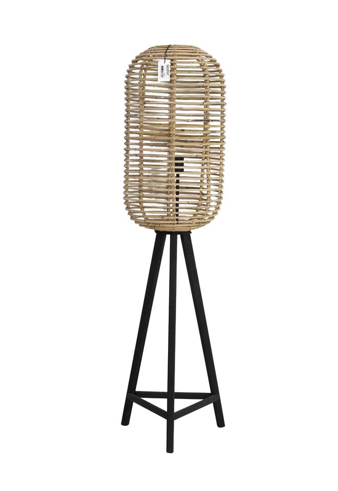 Light & Living Vloerlamp 'Tabana', rotan naturel
