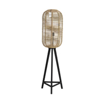 Light & Living Vloerlamp 'Tabana', rotan naturel