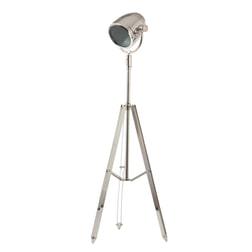 Light & Living Vloerlamp 'Taylor' kleur nikkel