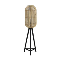 Light & Living Vloerlamp 'Tibana', rotan naturel