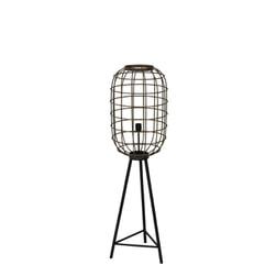 Light & Living Vloerlamp 'Toah', oud brons-mat zwart