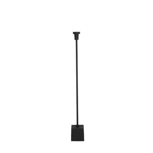Light & Living Vloerlamp 'Vathis', mat zwart
