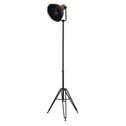 Light & Living Vloerlamp 'Yuri' driepoot, antiek zwart