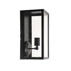 Light & Living Wandlamp 'Cordelia' lantaarn 16x18x36,5 cm, zwart