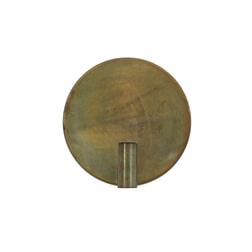 Light & Living Wandlamp 'Disc', goud-grijs