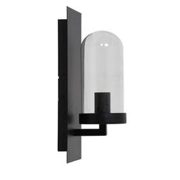 Light & Living Wandlamp 'Fendi', zwart+glas