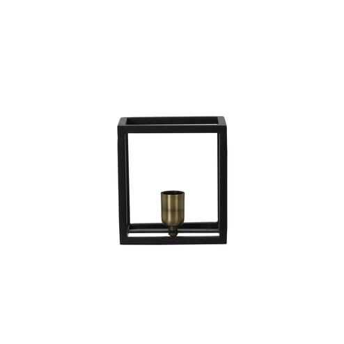 Light & Living Wandlamp 'Glenny', mat zwart