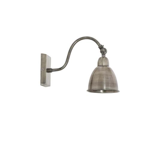 Light & Living Wandlamp 'Ulster', antiek zilver