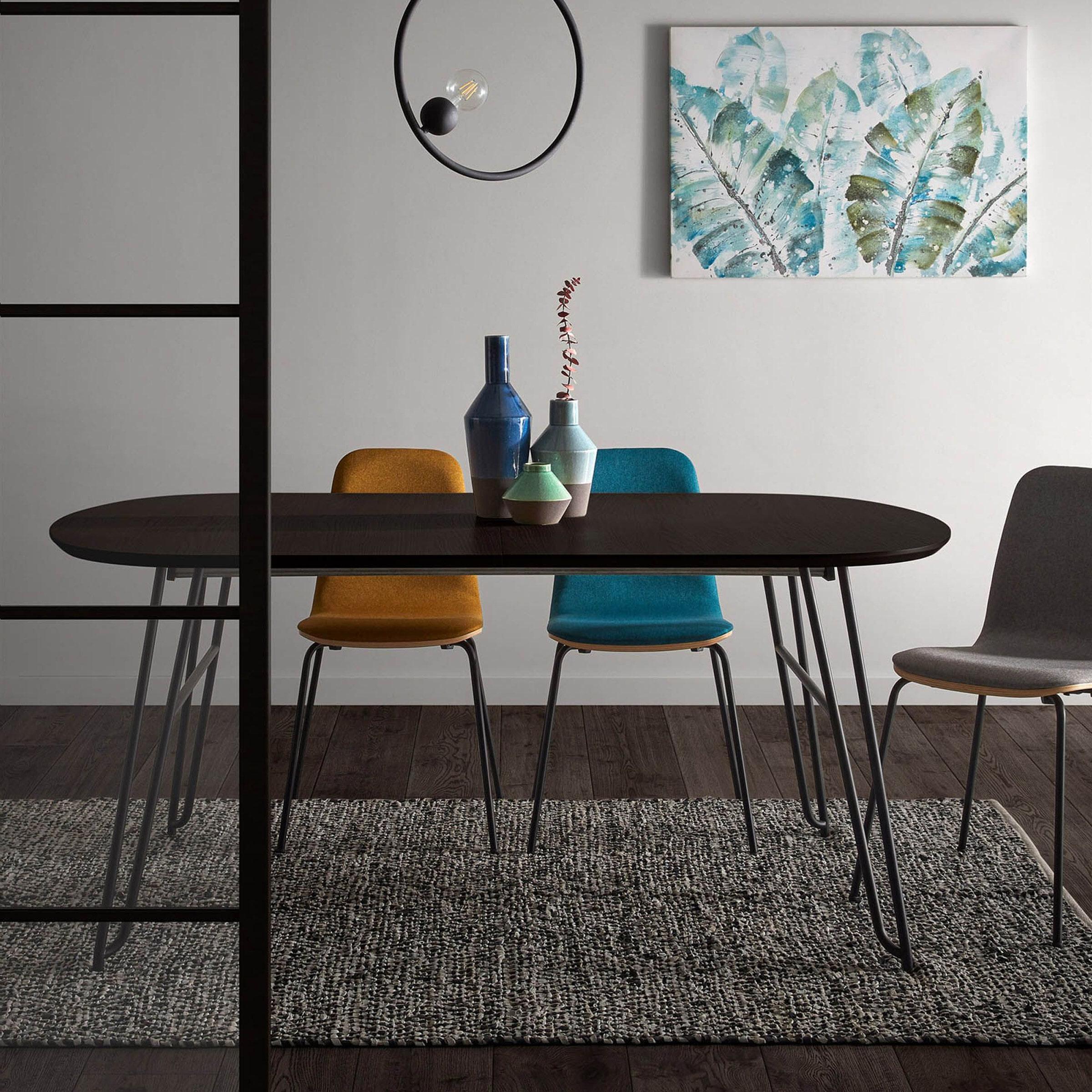 Kave Home Uitschuifbare Ovale Eettafel 'Milian' 170 320 x 100cm