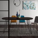 Kave Home Uitschuifbare Ovale Eettafel 'Milian' 170 - 320 x 100cm