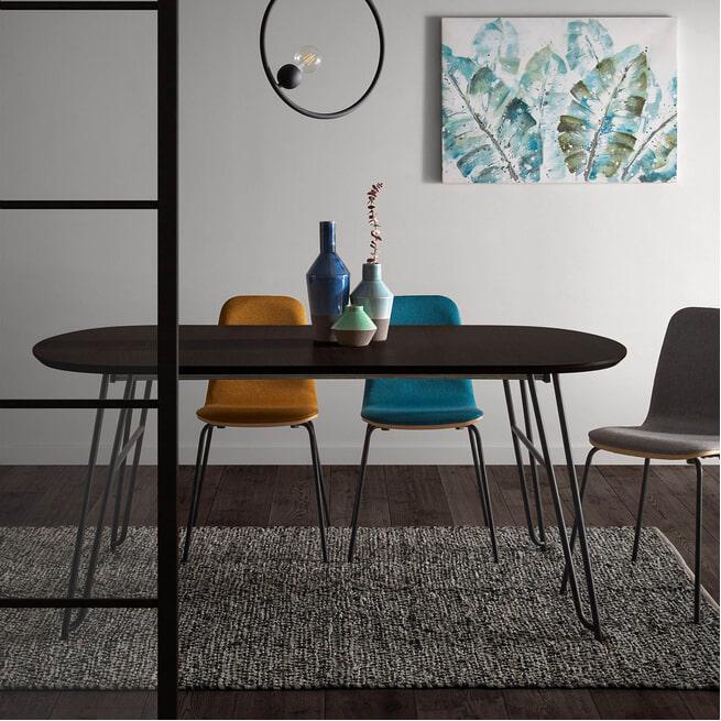 Kave Home Uitschuifbare Ovale Eettafel 'Milian'