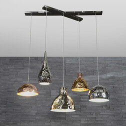 Mioni  'Calamari' 5-lamps