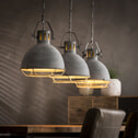 Mioni Hanglamp 'Fabbrica' 3-lamps