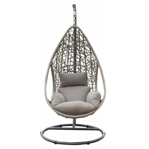 SenS-Line Hangstoel 'Mona' kleur zand