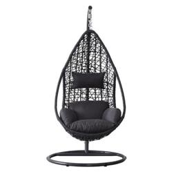 SenS-Line Hangstoel 'Mona' kleur zwart