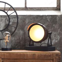 LABEL51 tafellamp 'Cap', kleur zwart