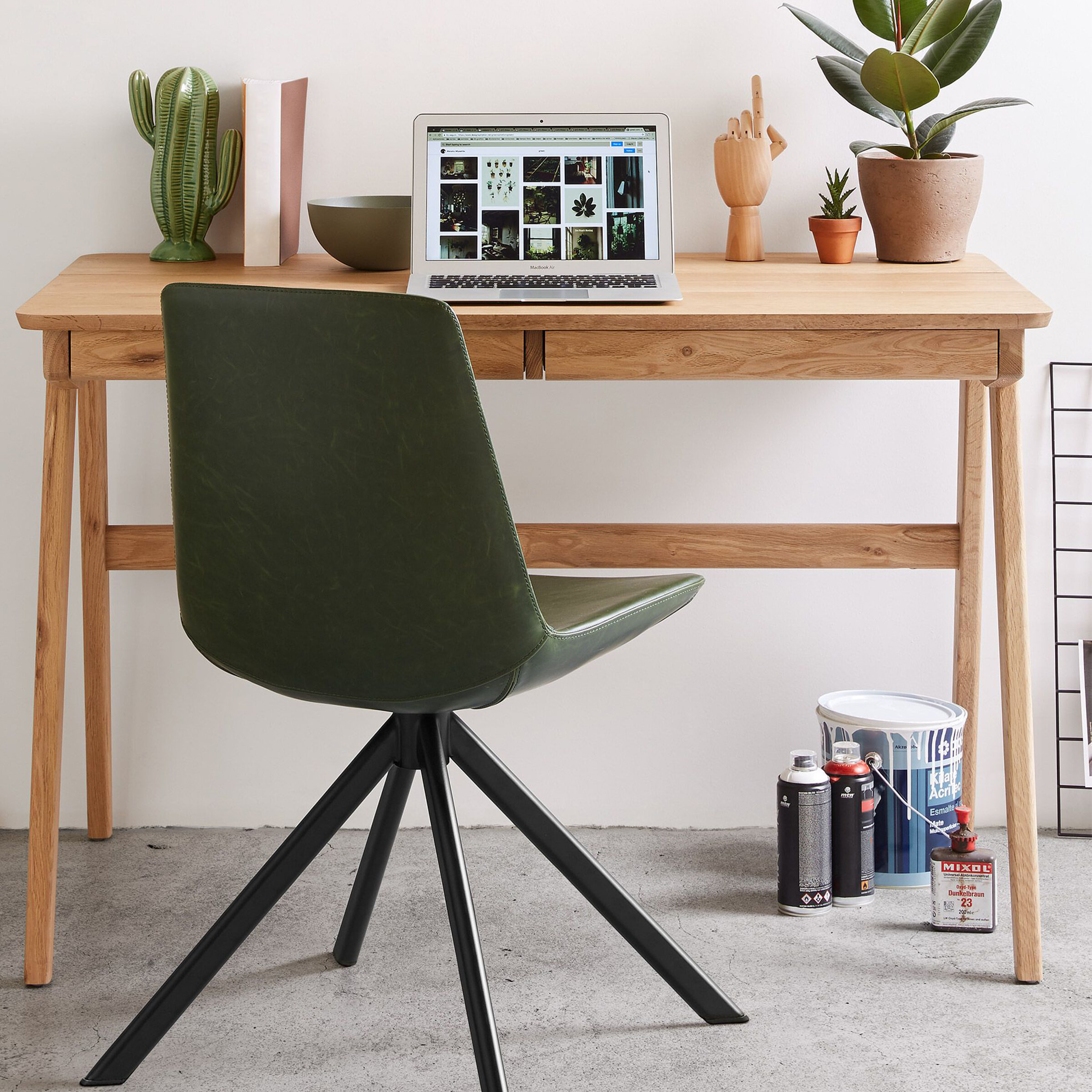 Kave Home Bureau 'Julia', kleur Naturel
