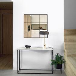 Kave Home Sidetable 'Rewena' 110cm, kleur Wit
