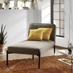 Kave Home Slaapbank 'Nelki', kleur Grijs