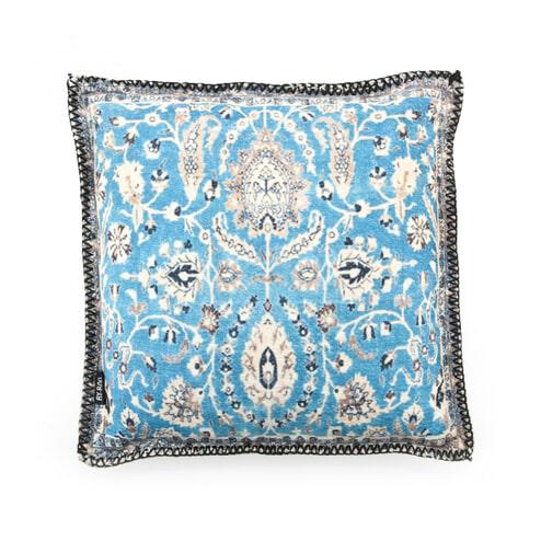 By-Boo Kussen 'Persia' 45 x 45cm, kleur blauw