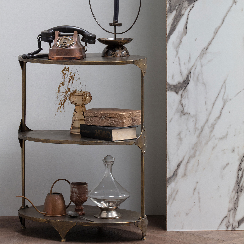 BePureHome Wandrek 'Rank' kleur Antique Brass