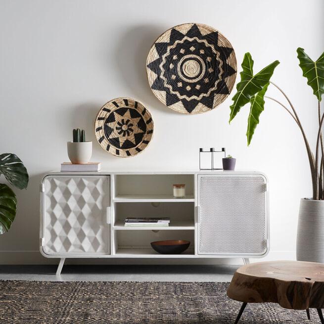Kave Home Tv-meubel 'Rita' 140cm, kleur Wit