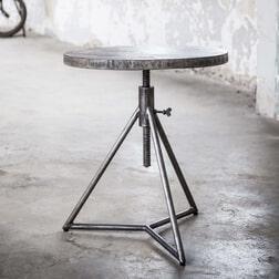Ronde bijzettafel 'Rift', 50cm