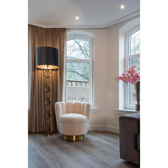 Richmond Vloerlamp 'Adyson' 156cm, kleur Goud