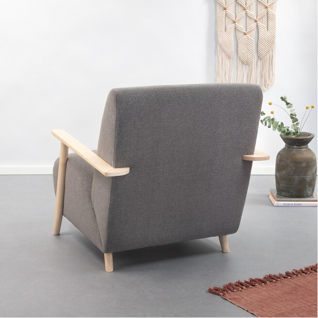 Kave Home Fauteuil 'Meghan'