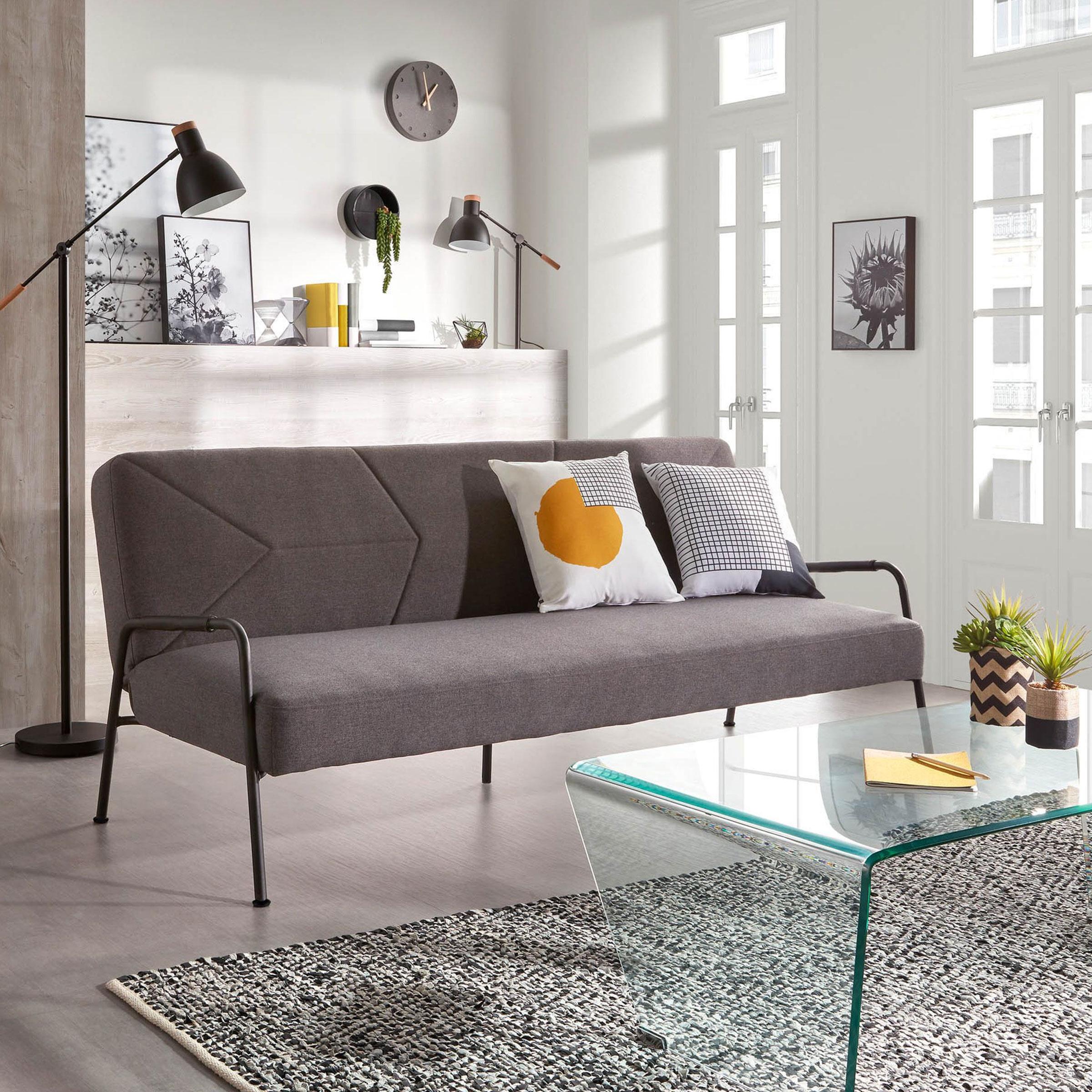 Op Design & Trends: Alles voor de inrichting van uw woning is alles over gadgets te vinden: waaronder meubelpartner en specifiek Kave Home Slaapbank Neiela, kleur Donkergrijs