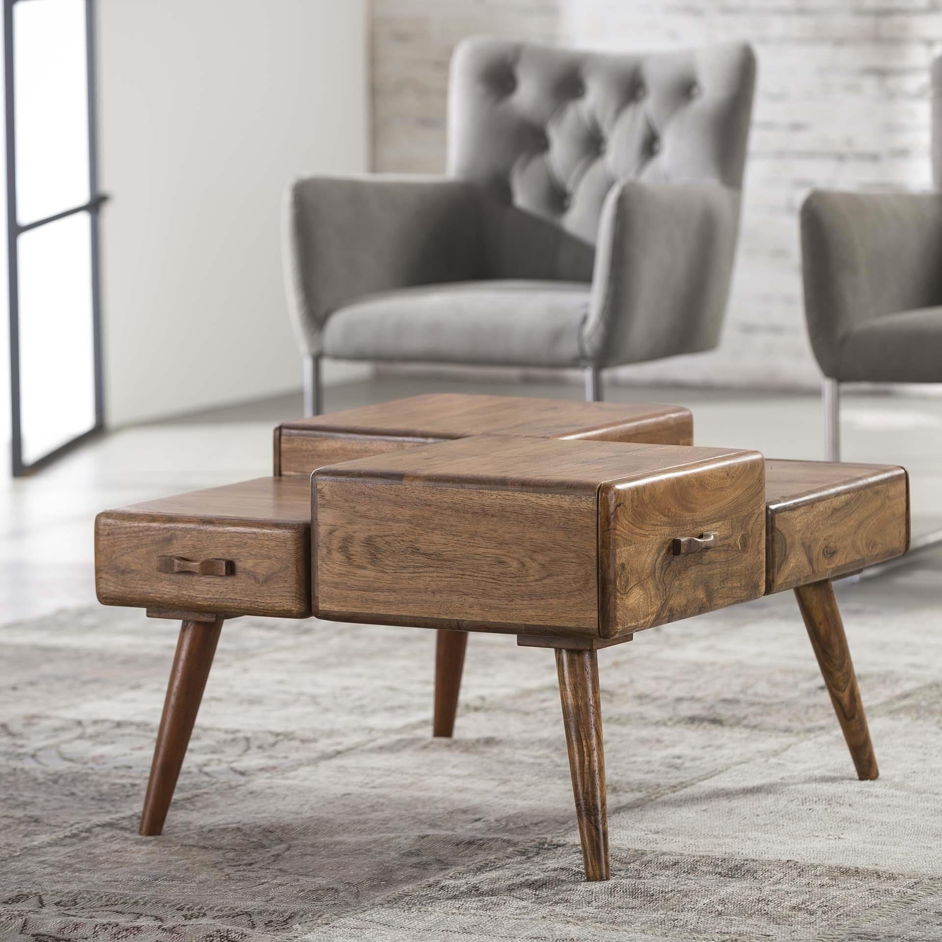 Salontafel 'Cube' 70 x 60cm Tafels | Salontafels vergelijken doe je het voordeligst hier bij Meubelpartner