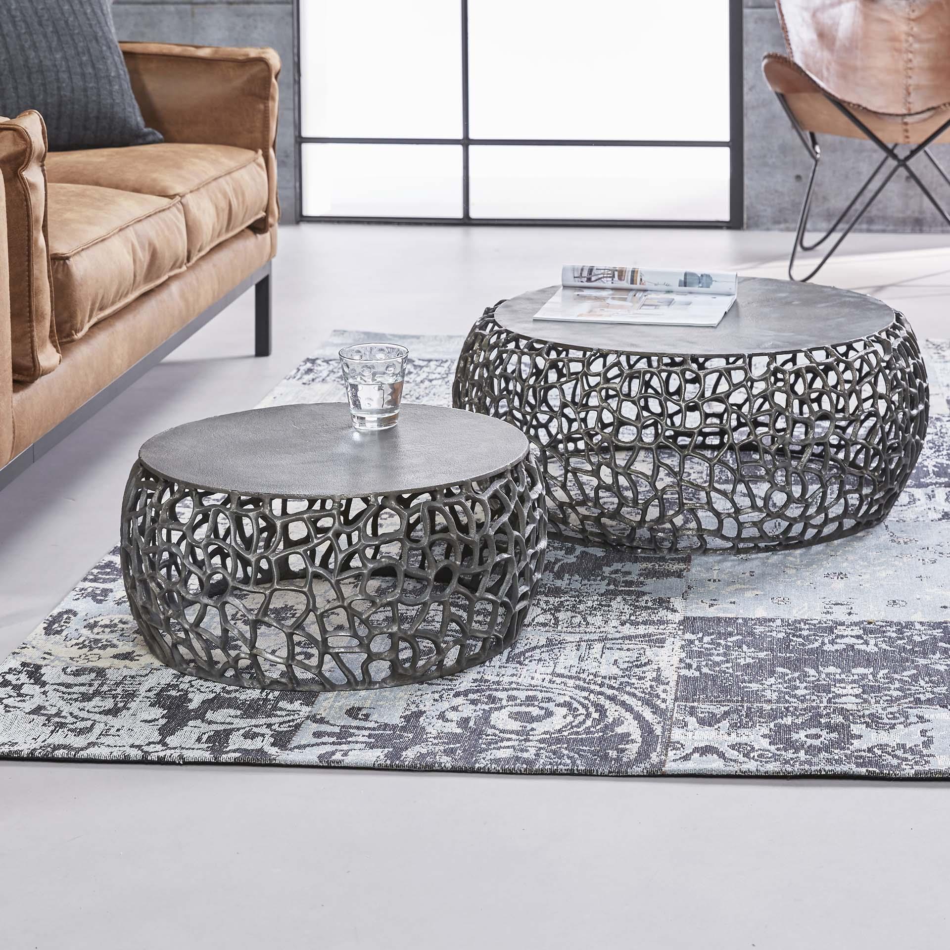 Salontafel 'Marcello' Set van 2 stuks Tafels | Salontafels vergelijken doe je het voordeligst hier bij Meubelpartner