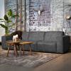 SEVN Bank 'Amarillo' 5-zits, kleur antraciet