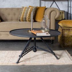 Dutchbone Vloerkleed 'Shisha' 160 x 235cm, kleur Desert