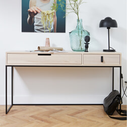 WOOOD Side-table 'Silas' 140cm