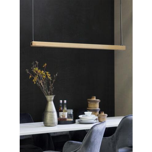 WOOOD Hanglamp 'Sjaak' kleur Naturel
