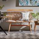 Kave Home Eetkamerbank 'Slover', kleur Naturel