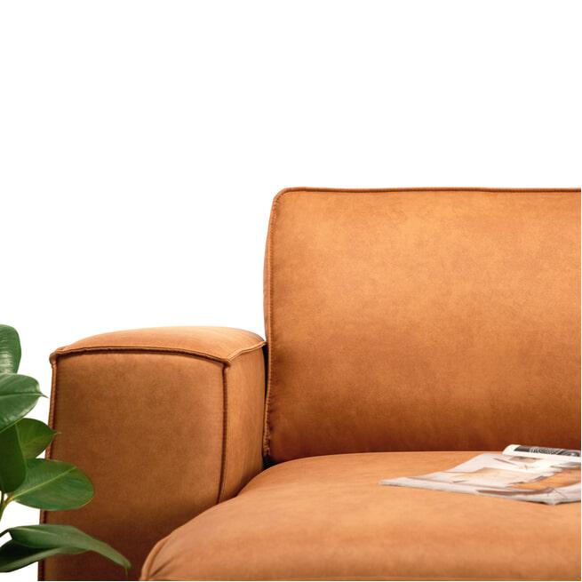 Sohome Loungebank 'Stacie' Kleur Cognac