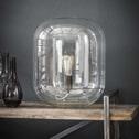 Tafellamp 'Franco' glazen stolp
