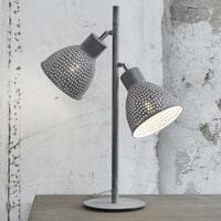 Tafellamp 'Milo', kleur Grijs