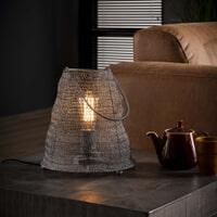 Tafellamp 'Reese' Gaas met handvat, Ø26cm